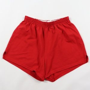 Vintage Soffe Booty Gym Shorts Red Womens LArge
